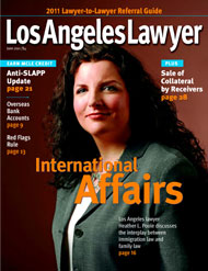 Immigration Attorney Heather Poole - Los Angeles Lawyer Cover - Marriage Immigration Article
