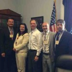 Lobbying for Immigration Reform at House Representative Adam Schiff's Office in Washington DC 2013