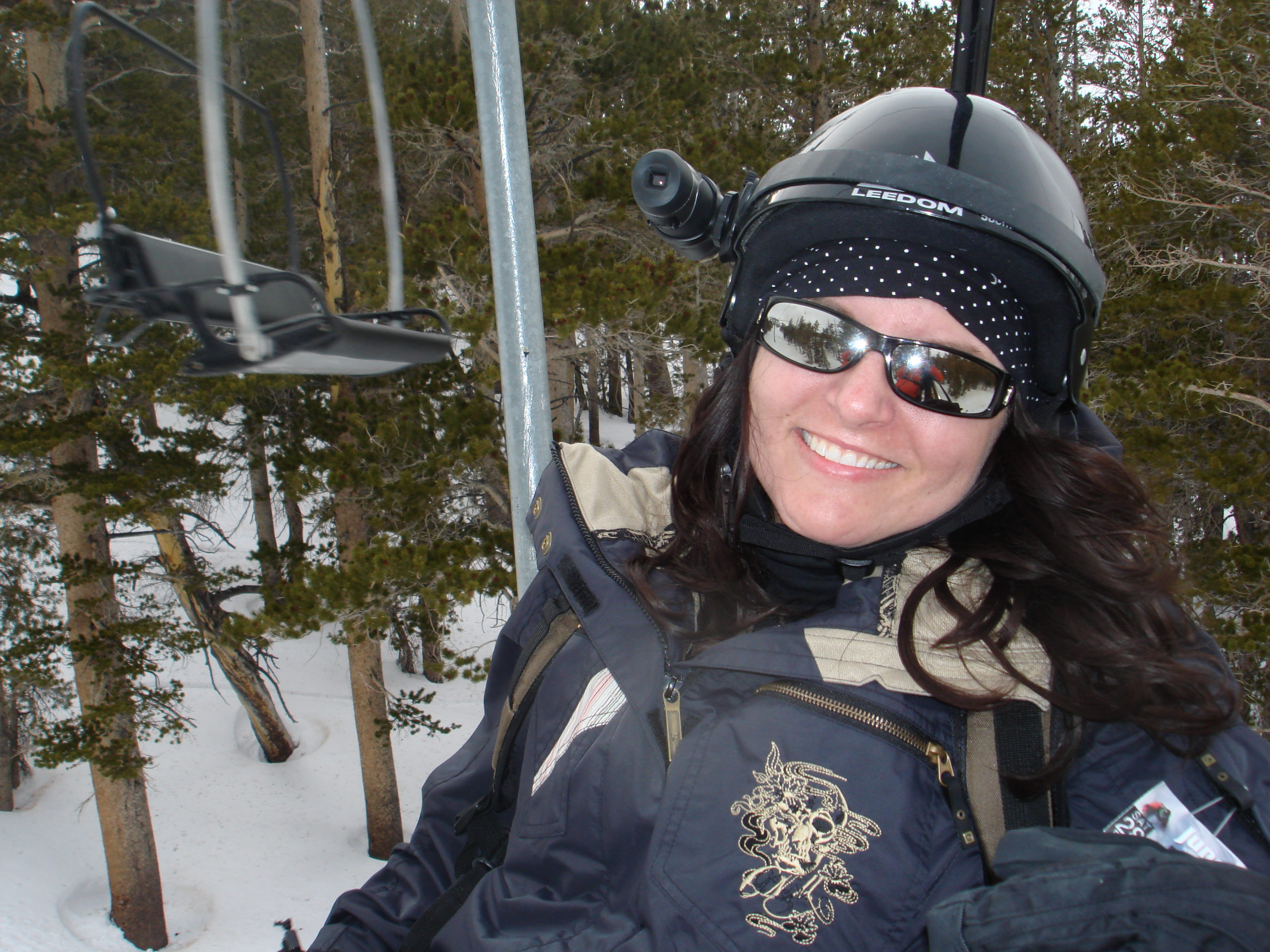 Mammoth Mountain, CA - Heather is an avid snowboarder & Skier