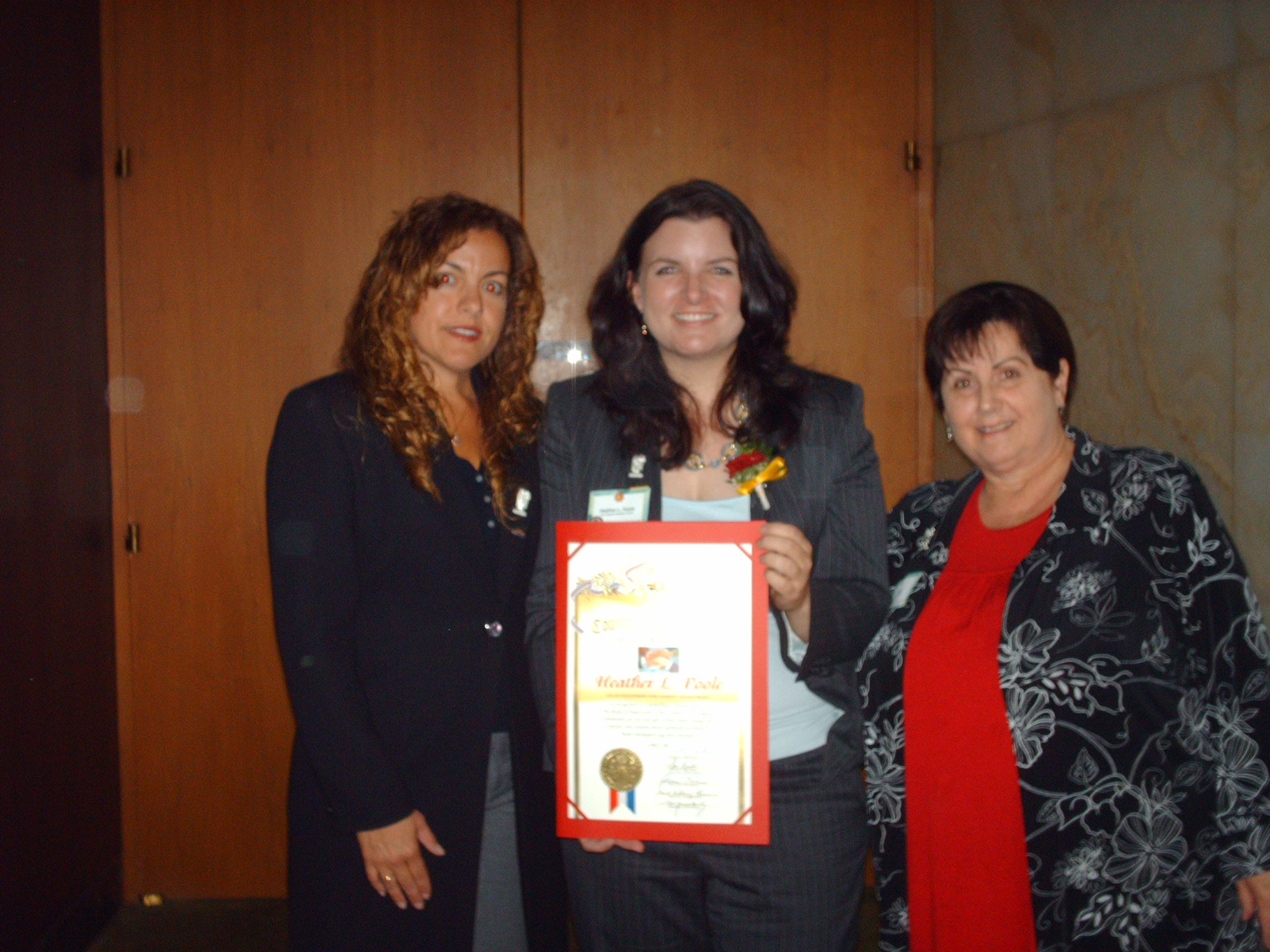 LACounty Superior Court Volunteer of the Year 2009