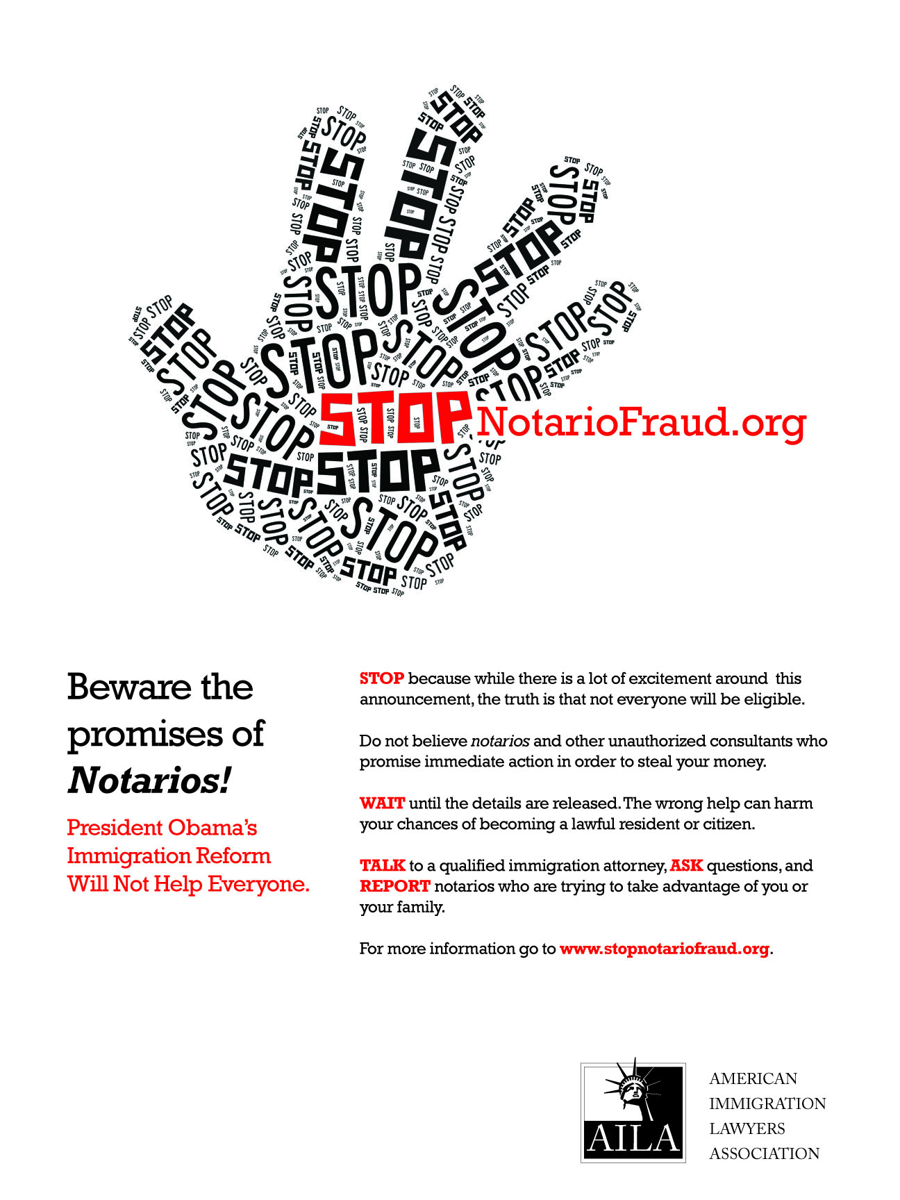 Watch out for Scammers! Notario Fraud can Ruin Your Immigration Chances and your future
